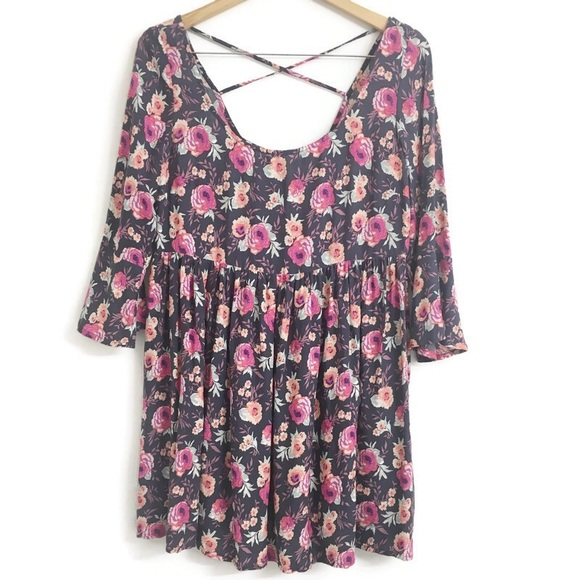 American Eagle Outfitters Dresses & Skirts - American Eagle Outfitters Floral Mini Dress D0172